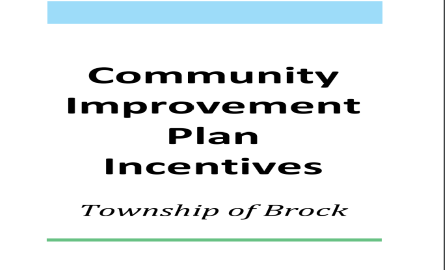 Community Improvement Plan Incentives