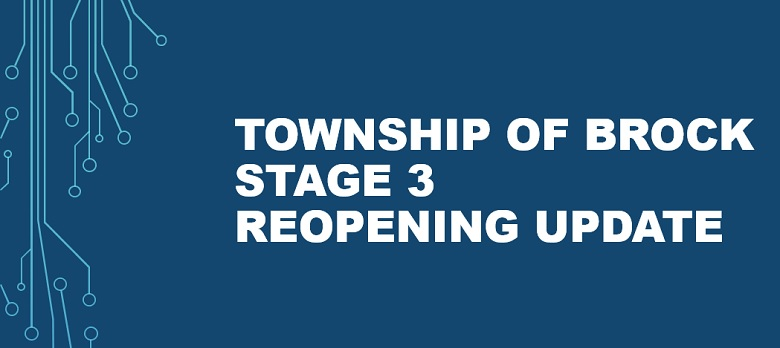 Stage 3 Reopening Update
