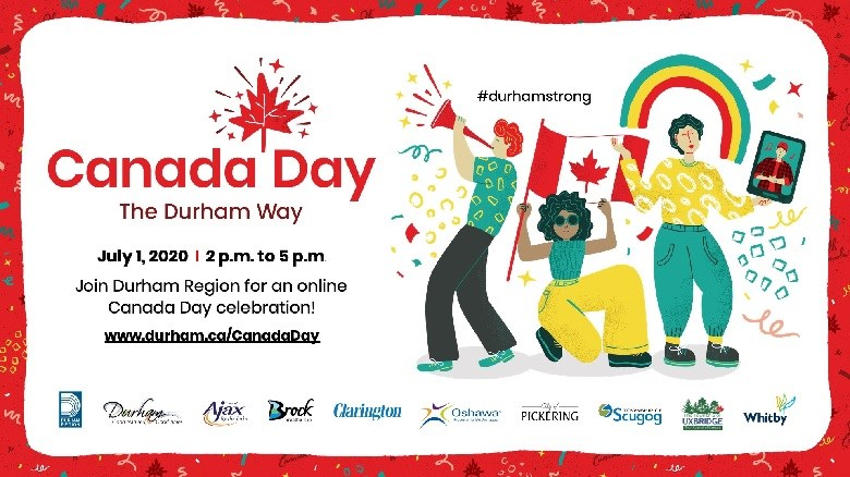 Canada Day the Durham Way poster