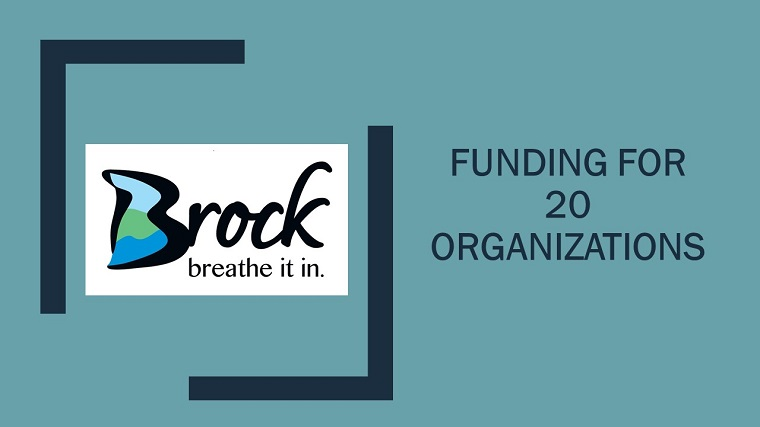 Funding for 20 organizations