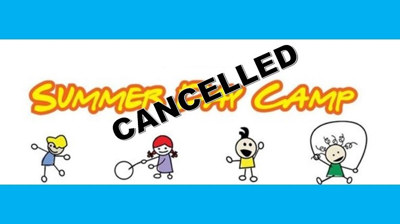 Summer Day Camp Cancelled Poster