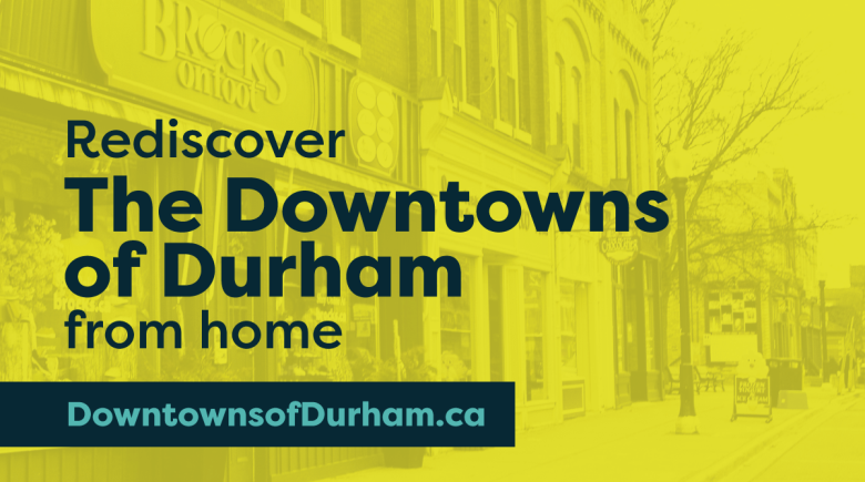 Downtowns of Durham poster