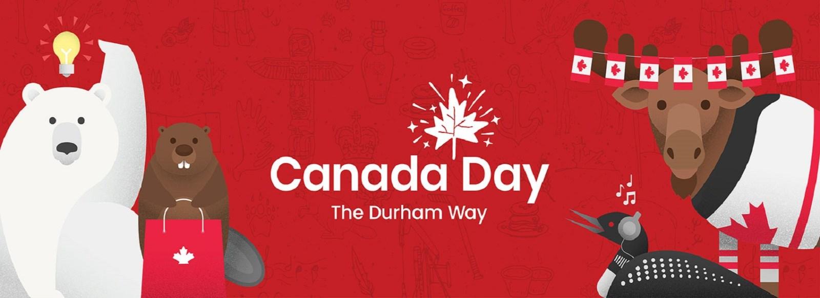 Canada day the Durham Way