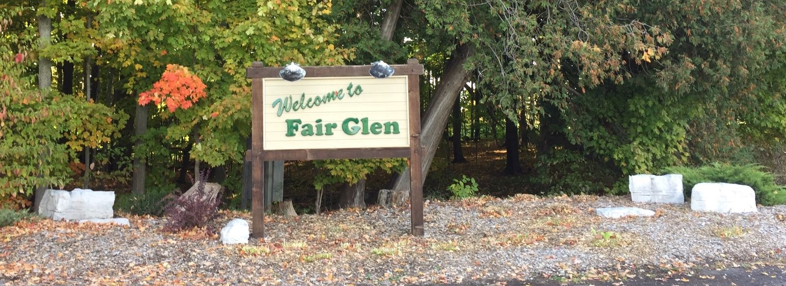 Fair Havens campground sign