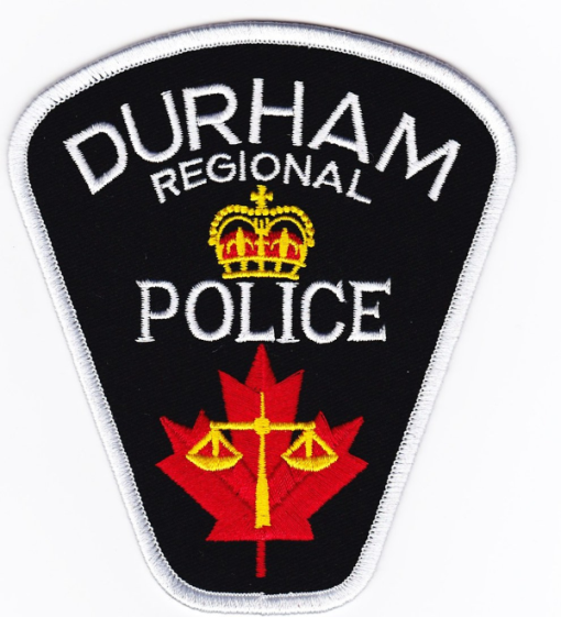 Durham Regional Police Services badge