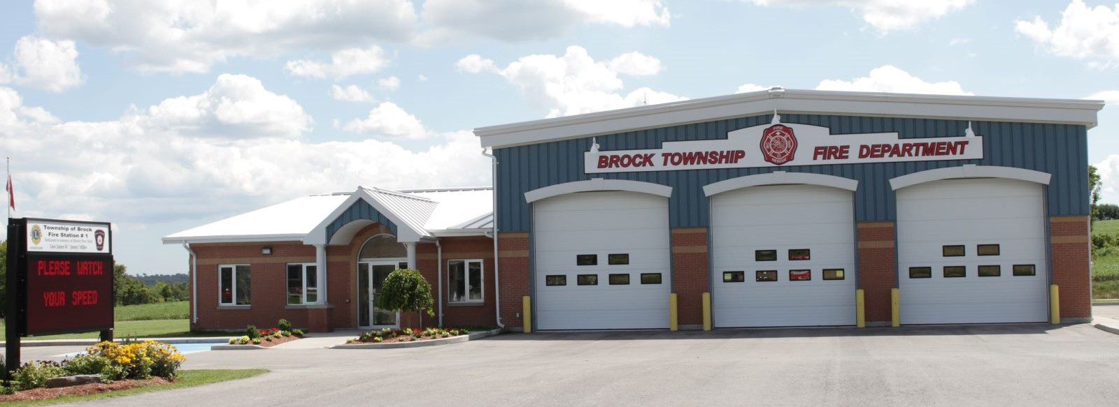 Brock Fire Department in Sunderland