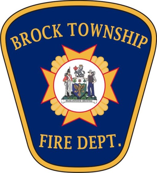 Township of Brock Fire Department badge
